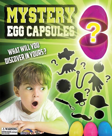 "2"" Egg Capsule Toy Mixture"