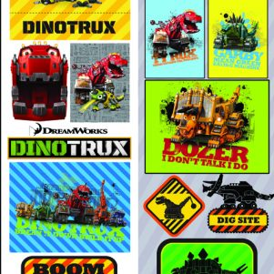 Dinotrux Stickers
