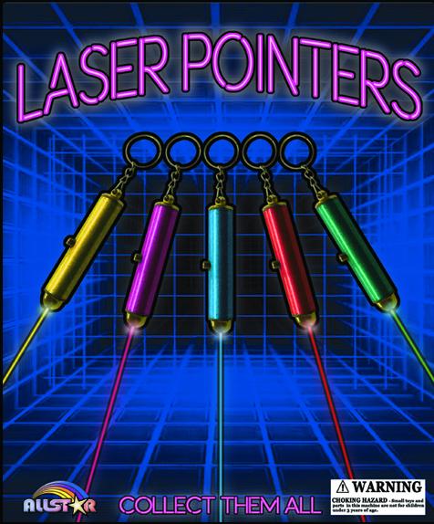 "2.5"" Laser Pointers"
