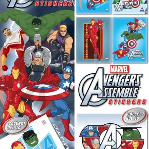 Avengers Assemble Stickers