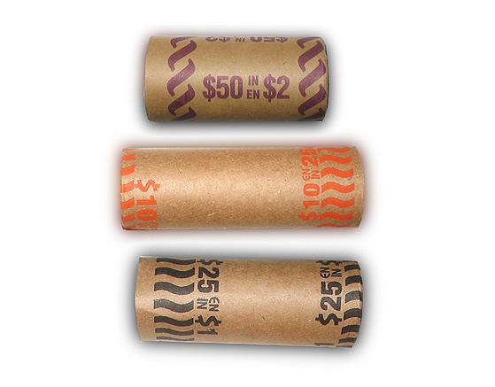 Cash Rolls 0.25$