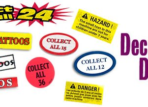 Collect All 12 Decal Stickers