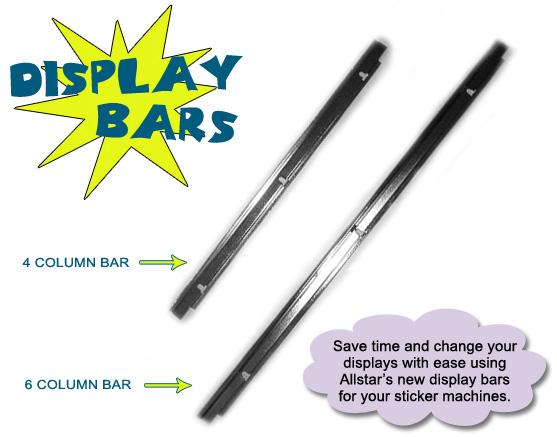 Display Bar With Screws