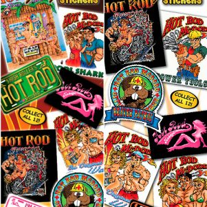 Hot Rod Mcdodd Giant Stickers