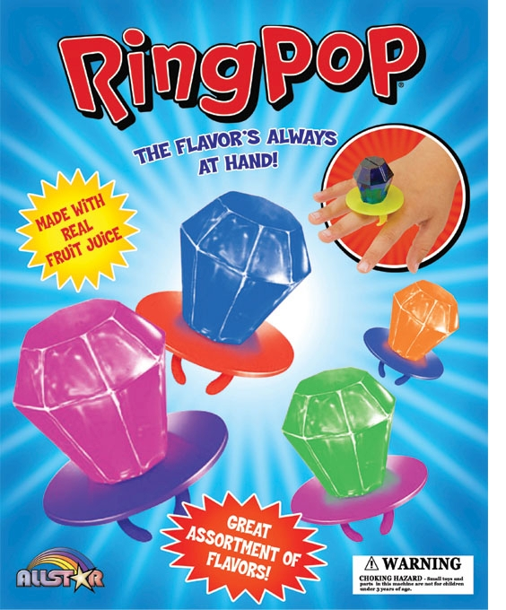 """2.2"""" Ring Pops"""